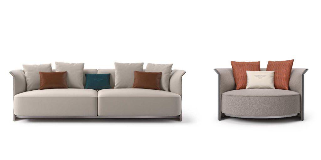 Bentley Home Ramsey Sofa and Loveseat