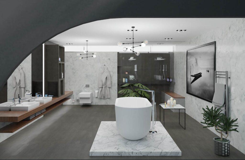 Grohe virtual showroom bathroom