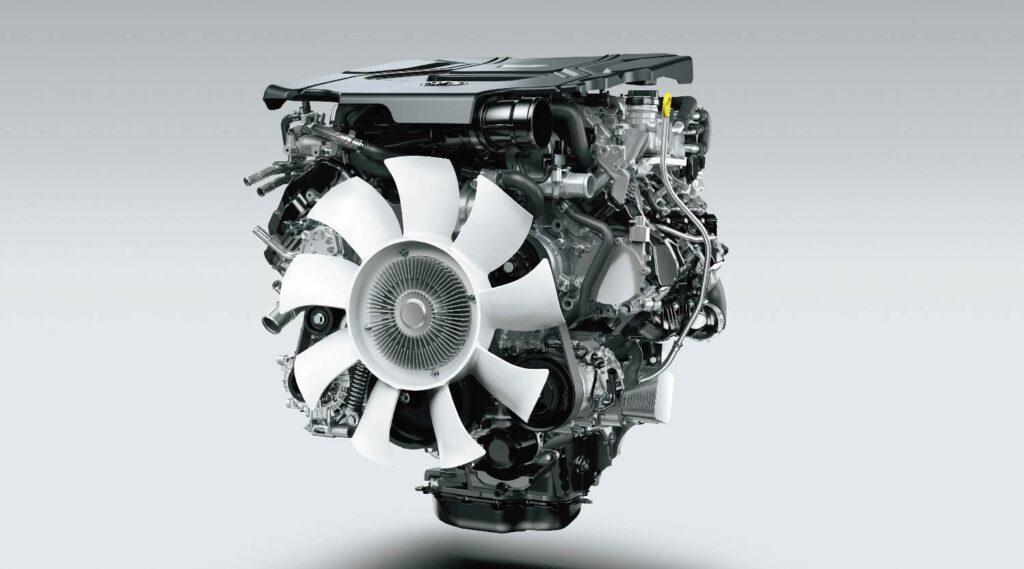 Toyota Land Cruiser 300 Engine