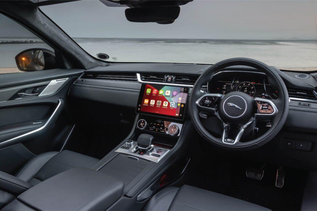 Jaguar F-PACE SVR interior view