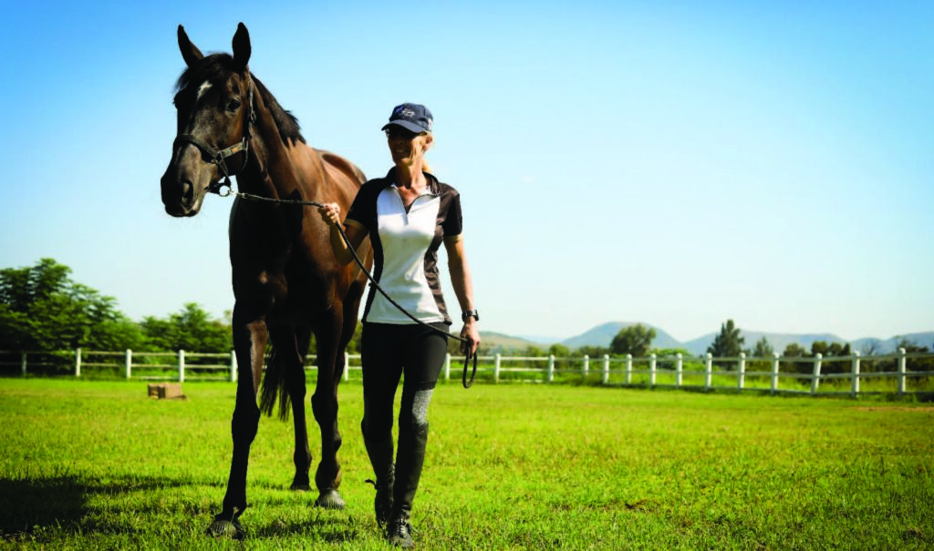 Equestrian Estate Lady and Horse