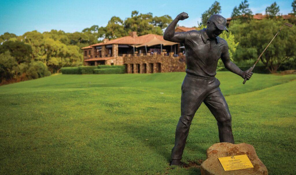 Gary Player Statue