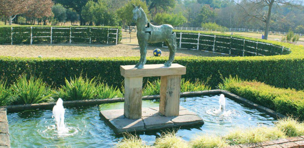 Equestrian Estate  Horse Statue