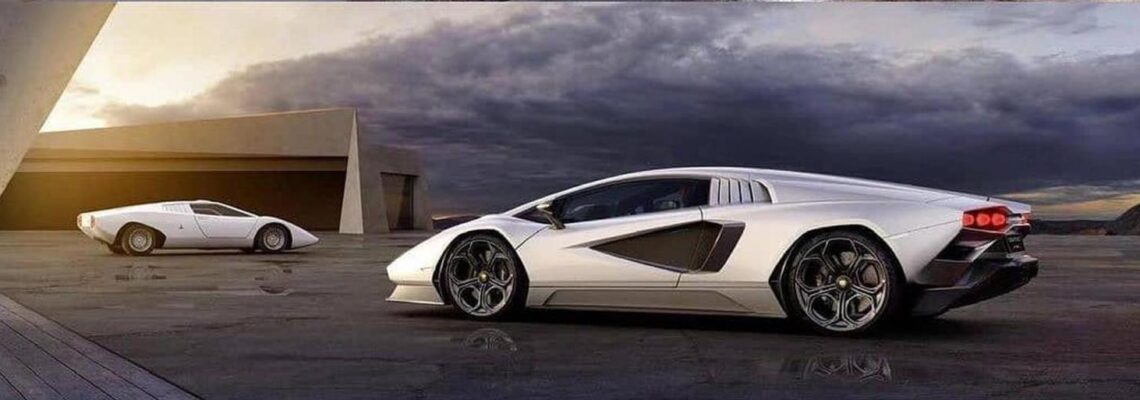 New Lamborghini Countach LPI 800-4 Leaked
