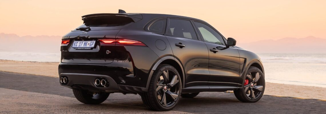 The Jaguar F-PACE SVR Has Made Its South African Debut
