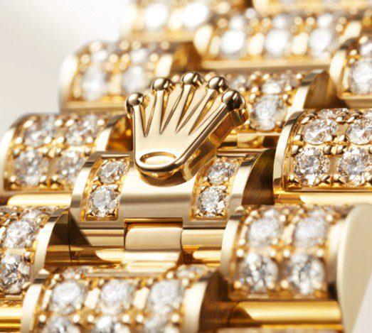 The Rolex Lady Datejust bracelet