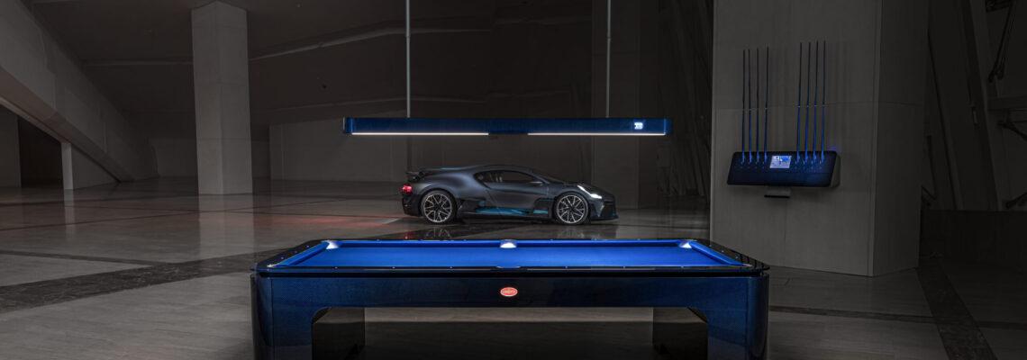 Bugatti's Carbon Fibre Pool Table